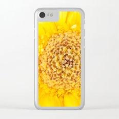 Sunny Summer Love - Yellow Gerbera #1 #decor #art #society6 Clear iPhone Case