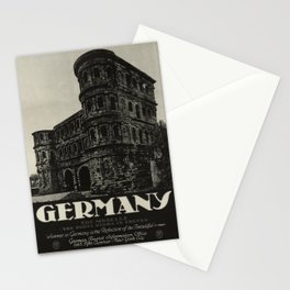 Germany oude poster Stationery Cards