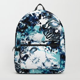 Abstract Marble Tie Dye Backpack
