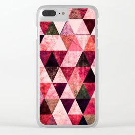 Abstract #807 Clear iPhone Case