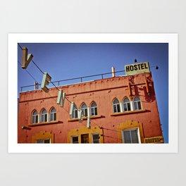 Venice Hostel Art Print