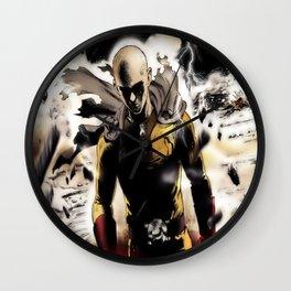 One Punch-Man Saitama 3 Wall Clock