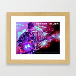 Hector Hellion - Electric Animal Framed Art Print
