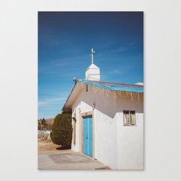 Desert Church II Canvas Print