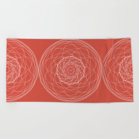 Ornament – Augenstern Beach Towel