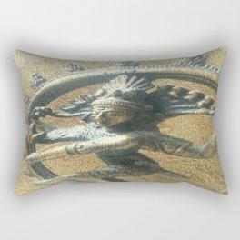 The Auspicious One Rectangular Pillow