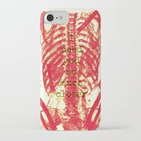 nicolas cage iPhone & iPod Cases featuring Rib Cage  by troymac1892