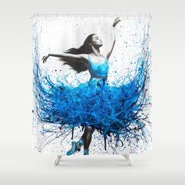 Ocean Ballet Shower Curtain