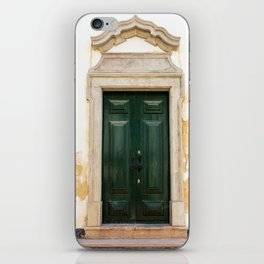 Old door in Tavira, Portugal iPhone Skin