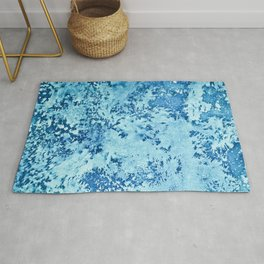 Color Fields: Winter Frost Rug