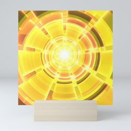 Golden Scope Mini Art Print