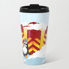 Greedy penguin Travel Mug
