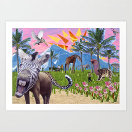 Wonderful Place Art Print