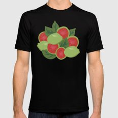 Guava MEDIUM Black Mens Fitted Tee