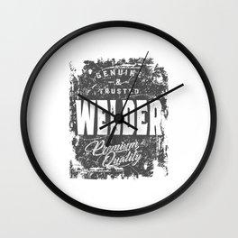 Welder Work Job Title Gift Wall Clock