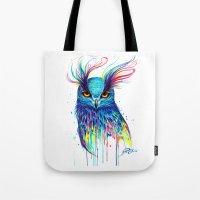aurora Tote Bags featuring -Aurora- by PeeGeeArts