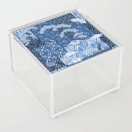 Shibori Quilt Acrylic Box