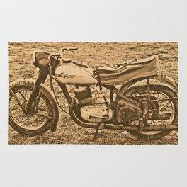 Jawa motorcycle Rug
