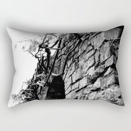 Haunted Wall of Wisteria Rectangular Pillow