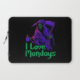 I Love Mondays Laptop Sleeve