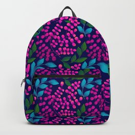 Tropical vibes purple Backpack