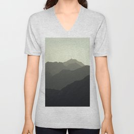 MOUNTAINS SILHOUETTE Unisex V-Neck