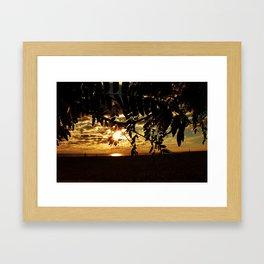 Postcard Perfection Framed Art Print