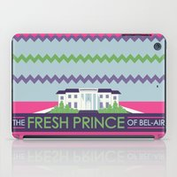 fresh prince iPad Cases featuring The Fresh Prince of Bel-Air by Dwele Rosa