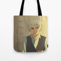 hetalia Tote Bags featuring Prussia by cycloalkane