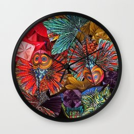 The Koi Wall Clock