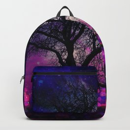 Lonely winter tree Backpack