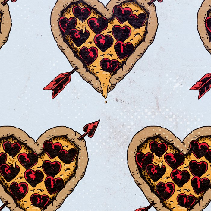 Pizza Love Leggings