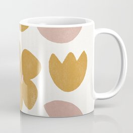 modern abstract flower print Coffee Mug