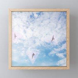 Flight Path Framed Mini Art Print
