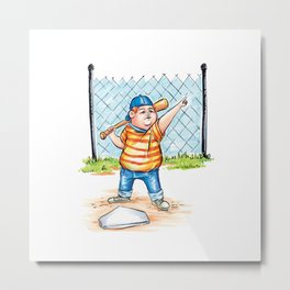 The Great Bambino Metal Print