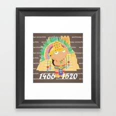 Moctezuma Xocoyotzin Framed Art Print