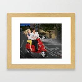 roman crazy Framed Art Print