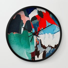 Salt water jewels Wall Clock