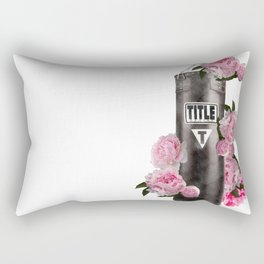 Peonie Heavy BAg Rectangular Pillow