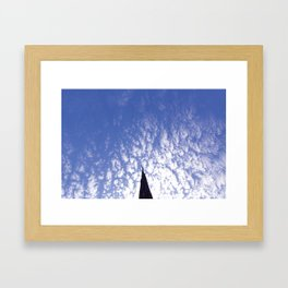 A Crack in the Sky Framed Art Print
