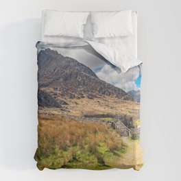 Tryfan and the Ogwen Valley Wales Comforters
