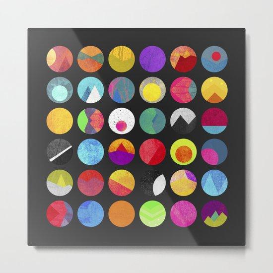 Dots - II Metal Print