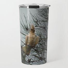 Cockatoo on a branch Travel Mug