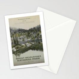 Mount Revelstoke National Park Stationery Cards