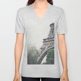 Eiffel Tower, Paris Unisex V-Neck