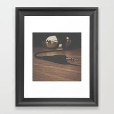 Plug In & Tune Out Framed Art Print