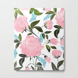 Rosy || Metal Print