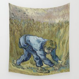 The Reaper (after Millet) Wall Tapestry