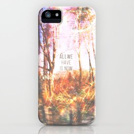 This is only Temporary by Debbie Porter iPhone Case
