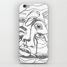 pile ou faces iPhone & iPod Skin